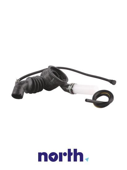 Rura | Wąż połączeniowy bęben - pompa do pralki 00650081,1