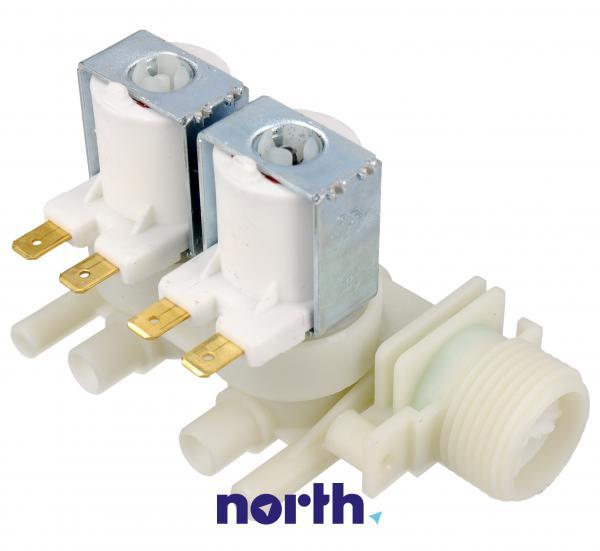 Elektrozawór podwójny do pralki Indesit 482000027243,2