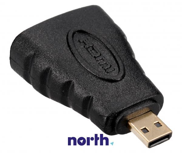Adapter HDMI - HDMI micro (gniazdo/ wtyk),0
