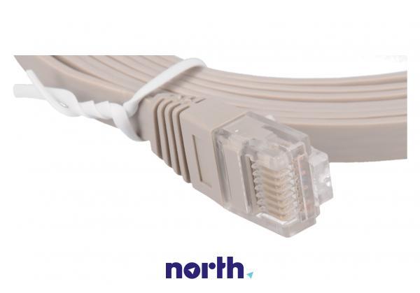 Kabel CAT-6 2m (wtyk/ wtyk) | (RJ-45/skrętka),1