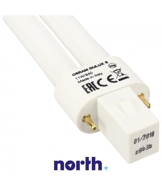 Żarówka | Świetlówka energooszczędna G23 11W Osram dulux s (biały zimny),1