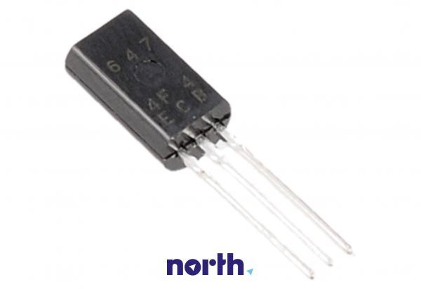 2SB647C Tranzystor TO-92MOD (PNP) 120V 1A 140MHz,0