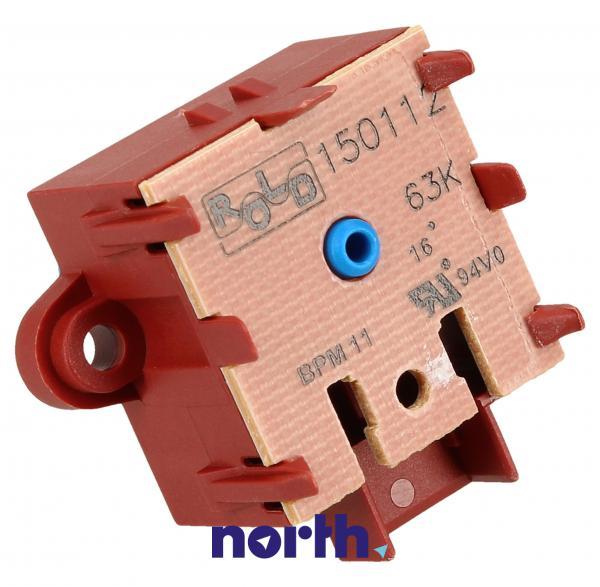 Przełącznik funkcyjny 481227328282 T105-FR4 do pralki Whirlpool 480111104446,2