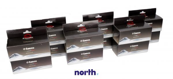Zestaw do konserwacji zaparzacza 12szt. do ekspresu do kawy Saeco 996530010356,0