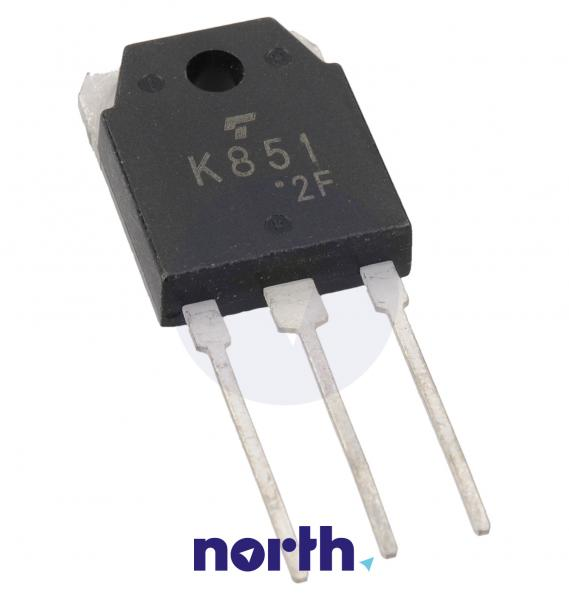 2SK851 Tranzystor TO-3P (n-channel) 200V 30A 66MHz,0