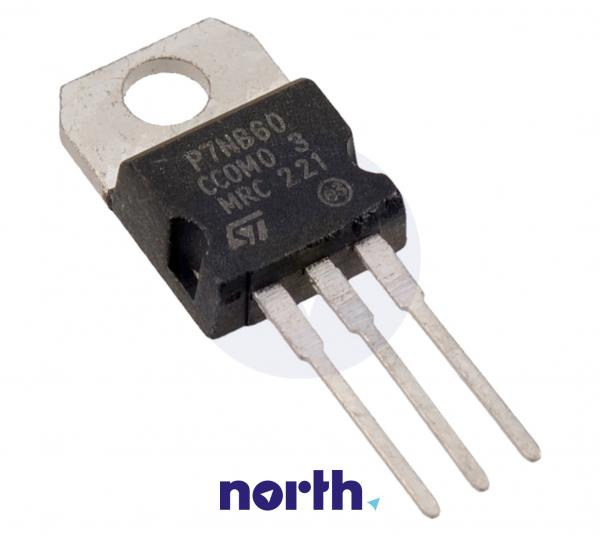 STP7NB60 Tranzystor TO-220 (n-channel) 600V 7.2A 125MHz,0