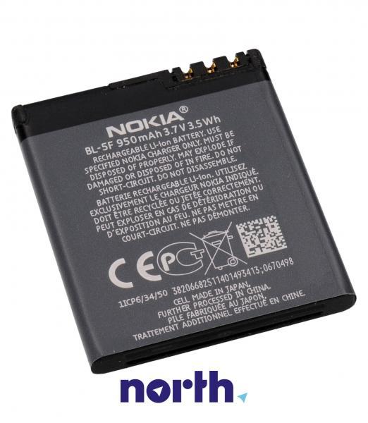 Akumulator | Bateria BL-5F 3.7V 950mAh do smartfona 276530,1