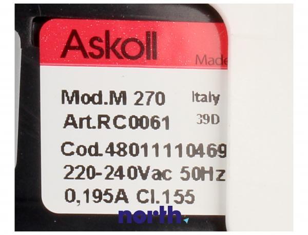 Pompa odpływowa kompletna (480111104693) do pralki Whirlpool/Polar C00312044,4