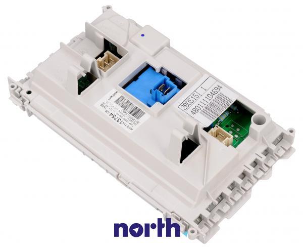 Moduł elektroniczny skonfigurowany do pralki 480111104694,1
