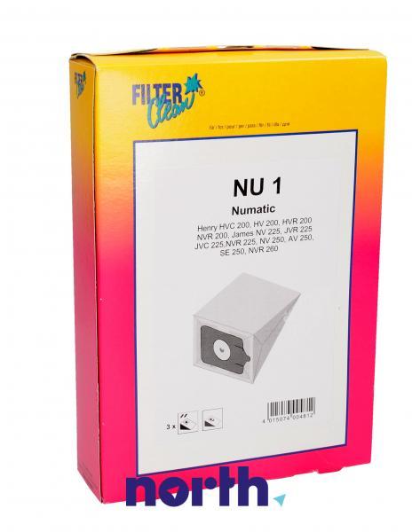 Worek do odkurzacza NU1 Numatic 3szt. 000278K,0