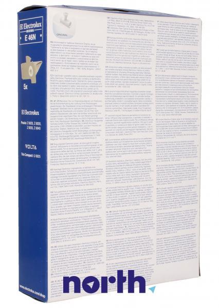 Worek E46N papierowe do odkurzacza 5szt. - oryginał: 9001959569,1