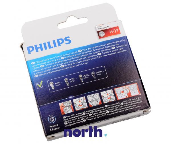 Tarcza | Głowica tnąca HQ9/50 kompletna 3 ostrza do golarki Philips HQ950,1