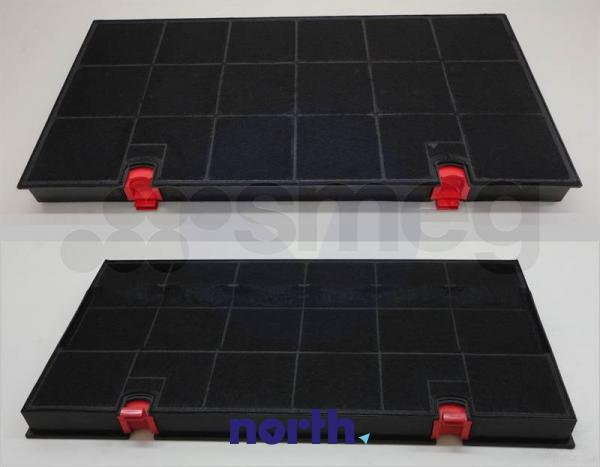 Filtr węglowy aktywny w obudowie do okapu KITFC150,1