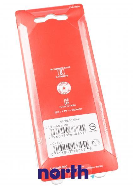 LP-E10 Bateria | Akumulator 7.4V 1500mAh do kamery 5108B002,1