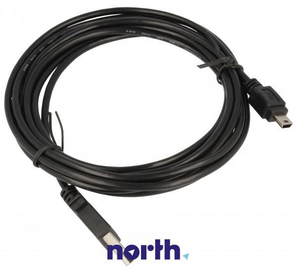 Kabel 3m USB A - USB B mini (wtyk/ wtyk) standard,0
