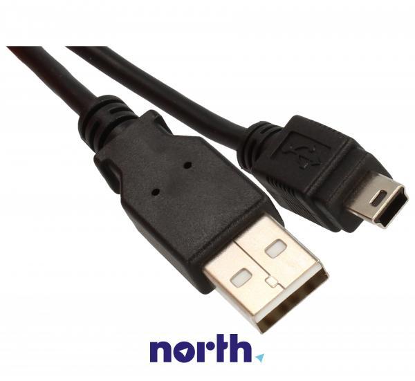 Kabel 3m USB A - USB B mini (wtyk/ wtyk) standard,1