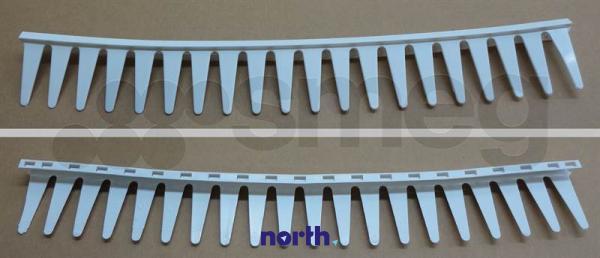 Grzebień półki na drzwi chłodziarki do lodówki 760390132,1