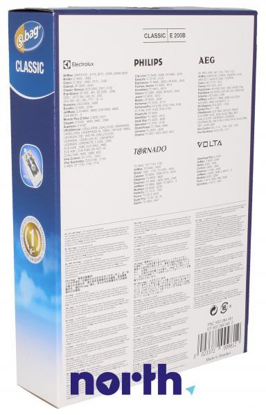 Worki S-Bag E200B (5szt.) do odkurzacza 9000844812,1