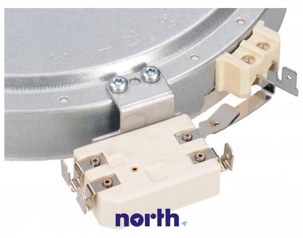Pole grzejne średnie 1700W 180mm do płyty grzewczej Whirlpool 481231018889,2