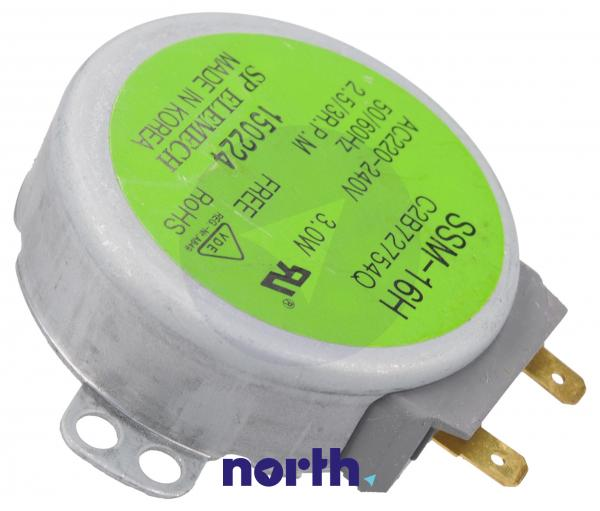 Silnik napędowy mikrofalówki 2B72754Q,0