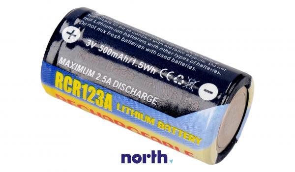 CR123 Bateria   Akumulator 3V 500mAh do kamery,1