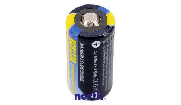 CR123 Bateria   Akumulator 3V 500mAh do kamery,2