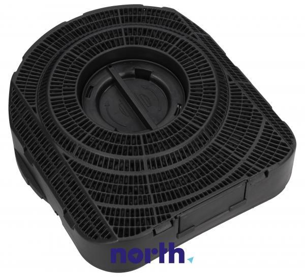 Filtr węglowy aktywny w obudowie do okapu Siemens 00488747,1
