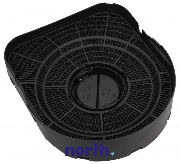 Filtr węglowy aktywny w obudowie do okapu Siemens 00488747,2