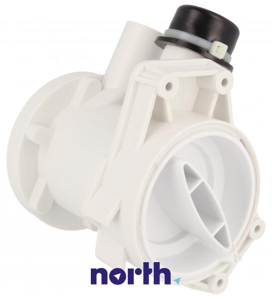 Obudowa pompy odpływowej z filtrem do pralki Candy 49002227,0