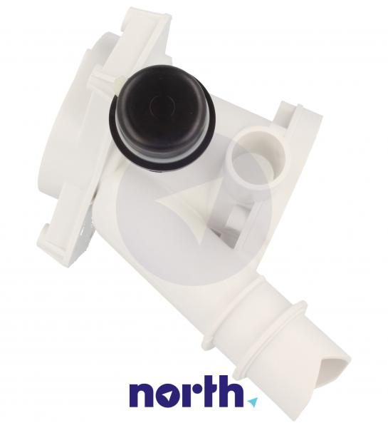 Obudowa pompy odpływowej z filtrem do pralki Candy 49002227,1