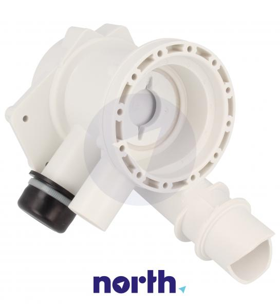 Obudowa pompy odpływowej z filtrem do pralki Candy 49002227,2