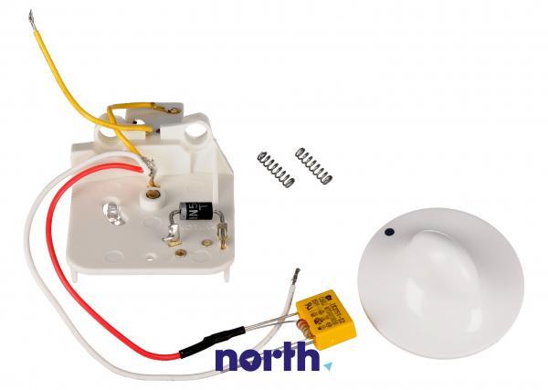 Pokrętło kompletne z przełącznikiem do robota kuchennego KW662468,0