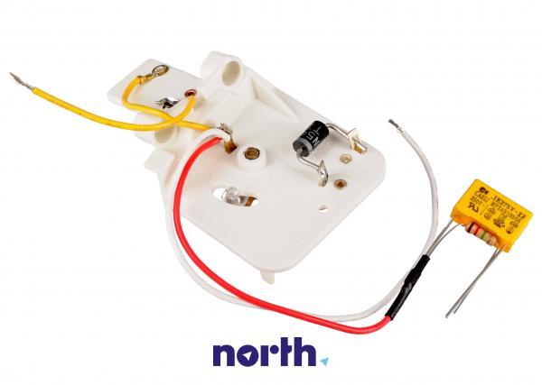 Pokrętło kompletne z przełącznikiem do robota kuchennego KW662468,3