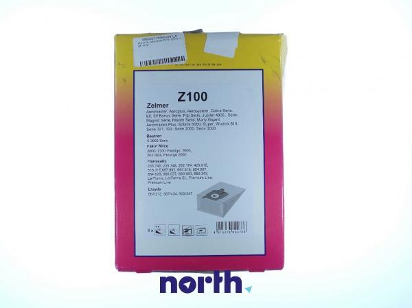 Worek do odkurzacza ZUNI1 Zelmer 5szt. ZUNI1,0