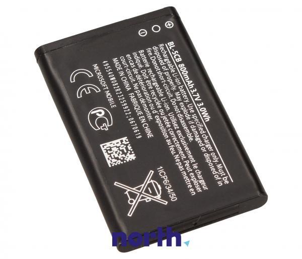 Akumulator | Bateria BL-5CB 3.7V 800mAh do smartfona 02743T3,1