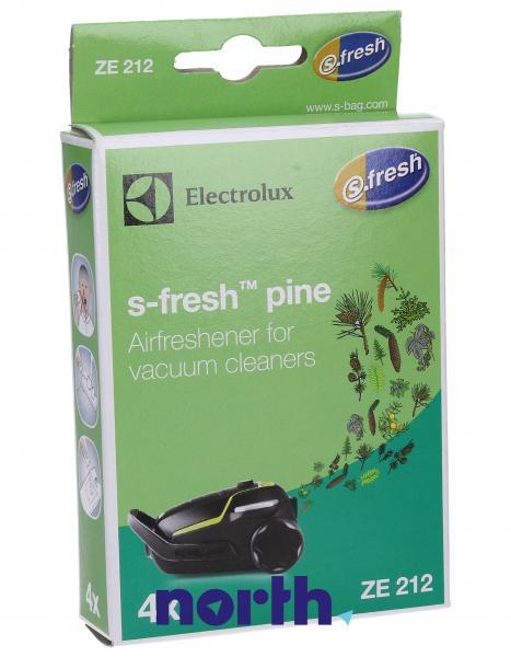Wkład zapachowy ZE212 (sosnowy) 4szt. do odkurzacza Electrolux 9001665075,0