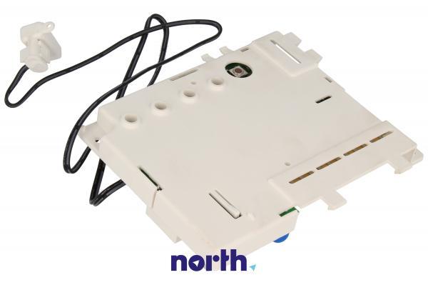 Moduł sterujący (w obudowie) skonfigurowany do zmywarki Indesit 482000029729,2