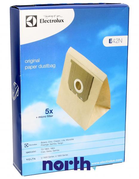 Worek E42N filtr do odkurzacza 5szt. - oryginał: 9001955781,0