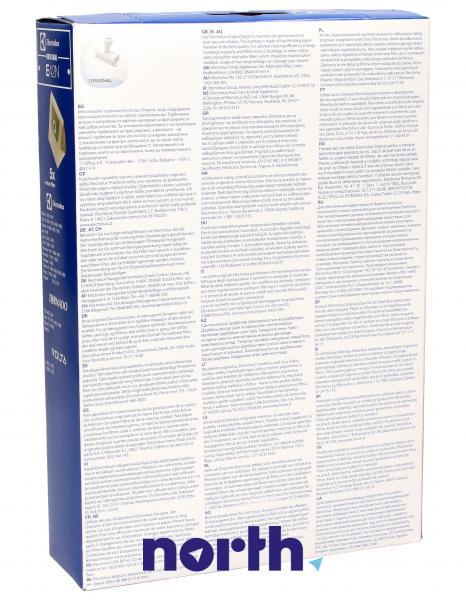 Worek do odkurzacza E42N Electrolux 5szt. (+filtr) 9001955781,1