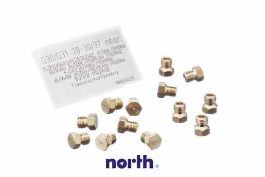 Dysza propan-butan (zestaw) płyty gazowej Siemens,1