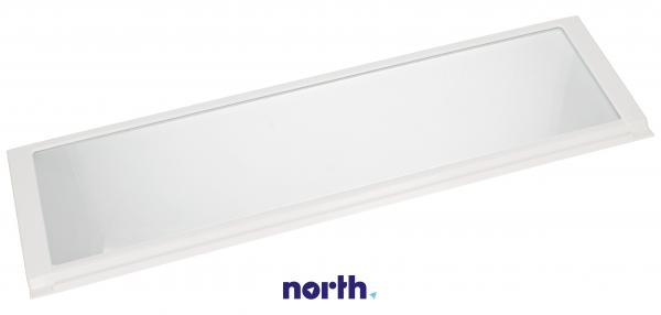 Szyba   Półka szklana dolna kompletna do lodówki 481245819182,0