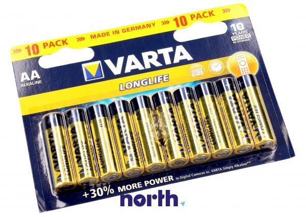R6 | LR6 | Bateria AA (Longlife) 1.5V 2700mAh Varta (10szt.),0