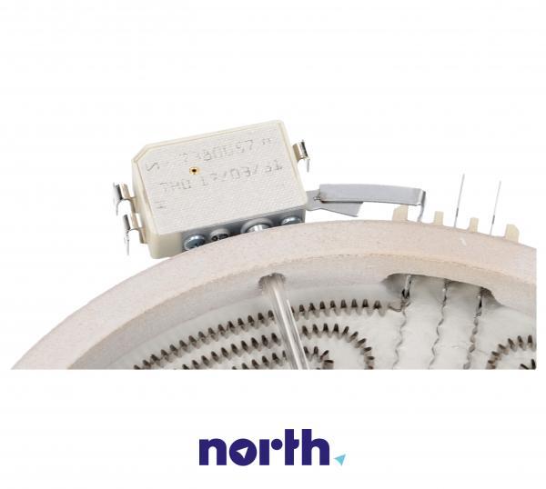 Pole grzejne Hilight podwójne (1400W/700W) do płyty grzewczej Whirlpool 481231018895,2