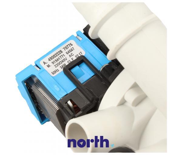 Pompa odpływowa kompletna (49002228) do pralki Candy/Hoover,3