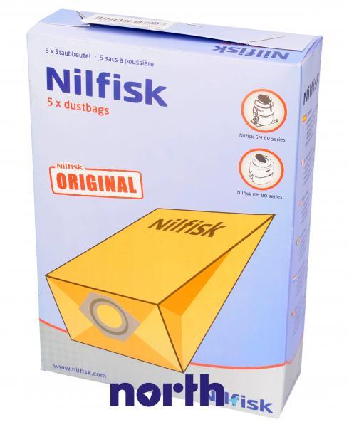 Worek do odkurzacza gm80 Nilfisk 5szt. 82095000,0