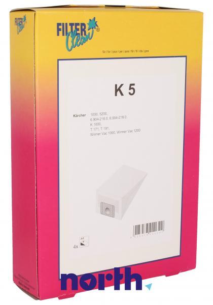 Worek K5 do odkurzacza 4szt.,0