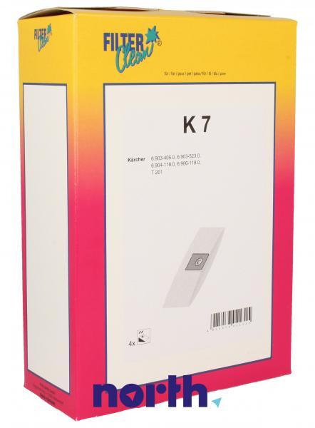 Worek K7 do odkurzacza 4szt.,0