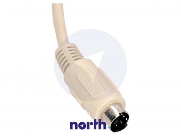 Kabel DIN 6 pin 2m (wtyk/ wtyk) standard,1