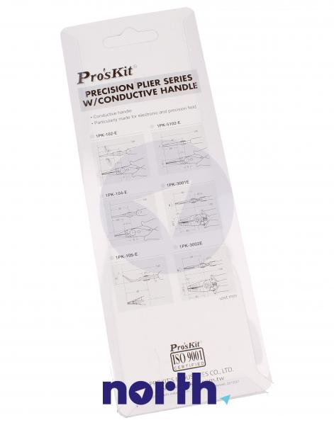 Szczypce zwężone 1PK105E Proskit,4