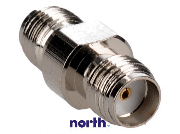 Adapter F antenowy (gniazdo/gniazdo),0